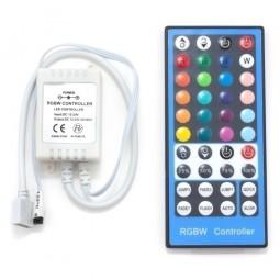 LED RGBW Controller IR mit 40 Tasten Fernbedienung