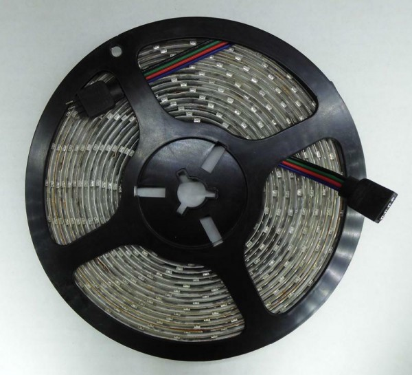 Flex LED Strip RGB 5m 60 LED/m IP65 12V