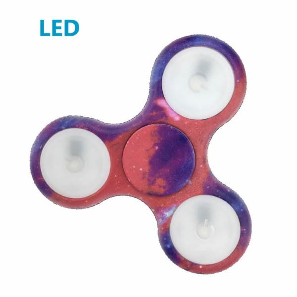 LED Fidget Spinner Milchstraße