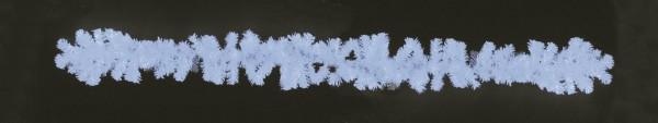 EUROPALMS Tannengirlande, dicht, UV-weiß, 270cm