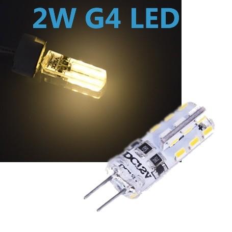 LED G4 2W 12V Leuchtmittel warmweiß (Spot, Strahler, Halogen)