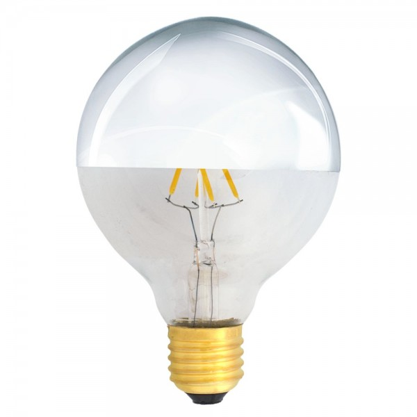 EiKO Kopfspiegellampe G95 LED E27 Filament 4W warmweiß 2700K 400lm 230V
