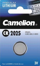 Lithium Knopfzelle CAMELION CR2025 3V