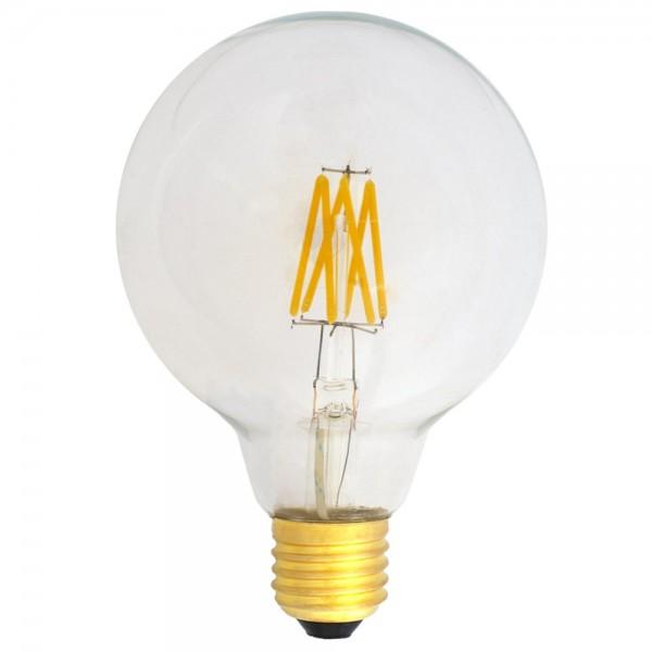 EiKO G95 LED E27 Filament 230V 6W warmweiß 2700K klar 600lm