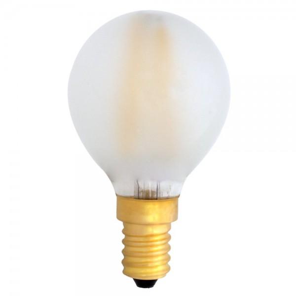 EiKO G45 LED E14 Filament frosted 4W warmweiß 2700K 360lm 230V