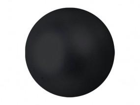 EUROPALMS Dekokugel 3,5cm, schwarz, metallic48x
