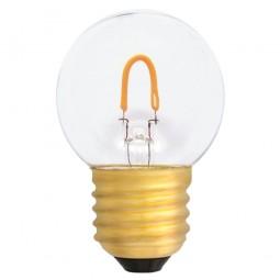 EiKO G45 LED E27 Filament 0,6W klar warmweiß 2400K 50lm 230V