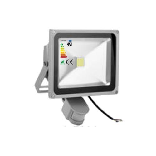 LED Fluter 230V 30W COB High Power Strahler mit Bewegungsmelder IP65