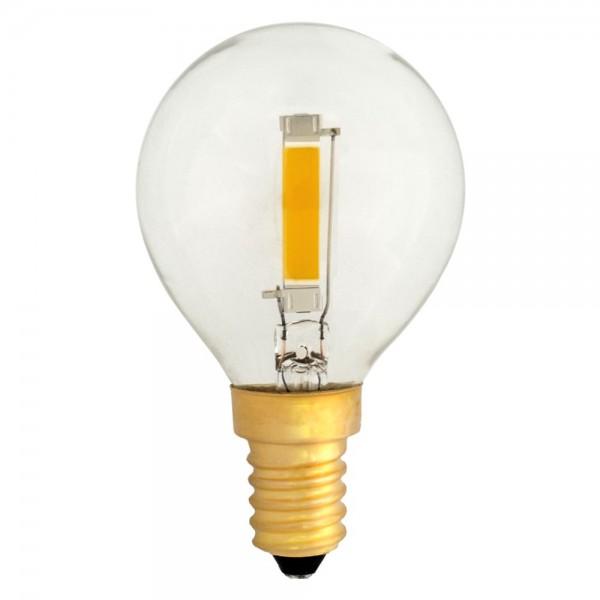 EiKO G45 LED E14 COB Filament 1,2W klar warmweiß 2700K 100lm 230V