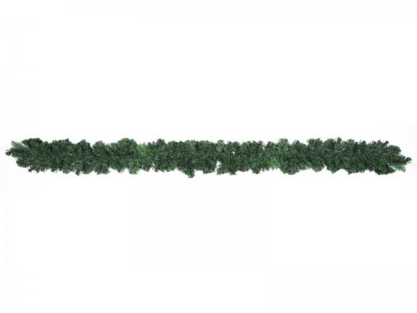 EUROPALMS Premium-Tannengirlande, grün, 18x270cm