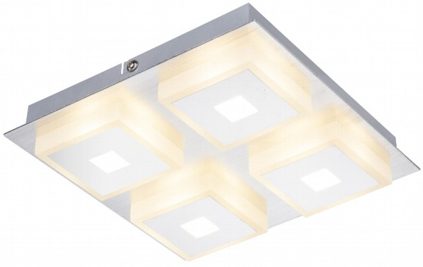 LED Deckenleuchte 20W 1240lm warmweiß 20 x 20 x 4cm