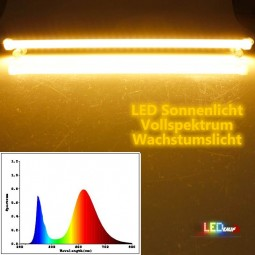 LED Leiste Vollspektrum 50cm Sonnenlicht IP65