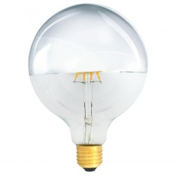 Kopfspiegellampe G125 LED E27 Filament 230V 4W warmweiß 2700K 420lm