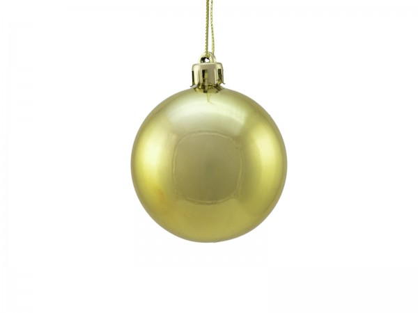 EUROPALMS Dekokugel 6cm, gold, metallic 6x