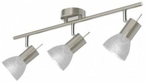 LED Leuchte E14 Alabasterglasschirmspot dreiflammig