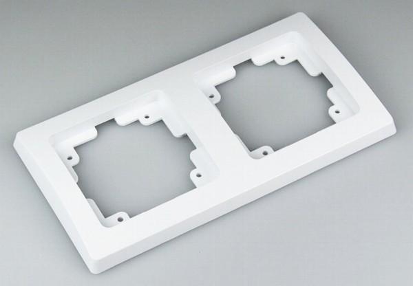 DELPHI 2-fach Rahmen weiß