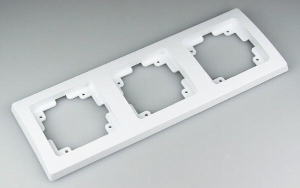 DELPHI 3-fach Rahmen weiß