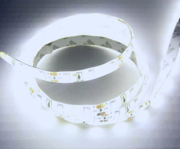 5m flex LED Strip 5630 KALTWEIß wasserdicht IP65