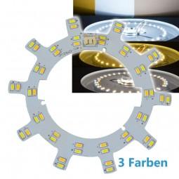 3 Stufen LED Leuchteneinsatz 24W mit Magnethaltern