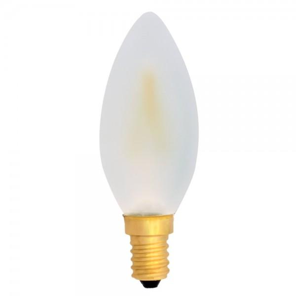EiKO C35 LED E14 Filament Kerze frosted 4W warmweiß 2700K 360lm 230V