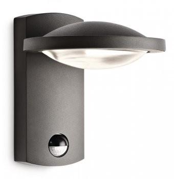 Philips LED Aussenleuchte Ledino Freedom mit Sensor 3W warmweiß 17239/93/16