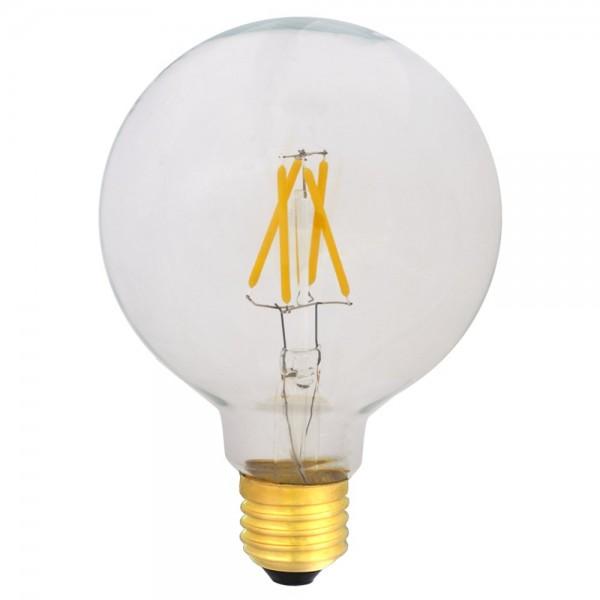 EiKO G95 LED E27 Filament 230V 4W warmweiß 2700K klar 420lm