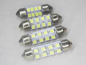 KFZ LED Soffitte C10W Xenonweiß 12V 31mm 36mm 37mm 39mm 41mm 42mm