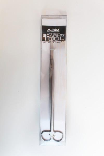 "ADM Aquascaping Schere ""Wave"" Scissor gewellt"