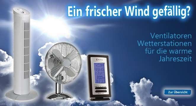 Ventilator Wetterstation und Produkte für besseres Wohnen billig kaufen