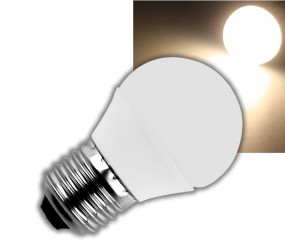 LED E27 Leuchtmittel 4W warmweiß
