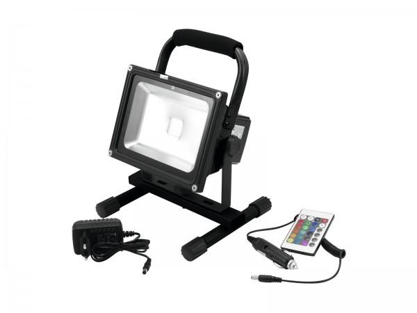 EUROLITE AKKU LED IP FL-20 COB RGB Spot
