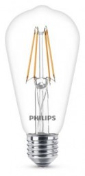Philips E27 LED Tropfen Filament 6W 806lm warmweiß
