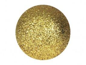 EUROPALMS Dekokugel 3,5cm, gold, glitzer 48x