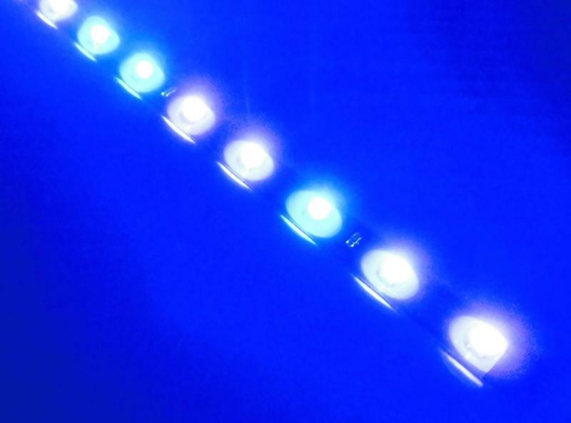 2 Stück 30CM 15  Blau  Strip Streifen Band Leiste Lampen Wasserdicht 12V