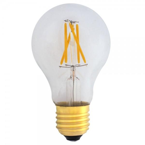 Dimmbare A19 LED E27 Filament 4W warmweiß 2700K 420lm 230V
