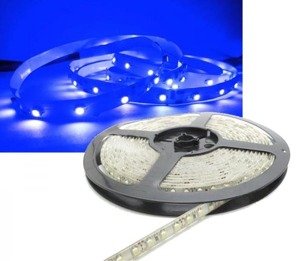 LED Strip BLAU 5m 12V 120 LED/m IP65