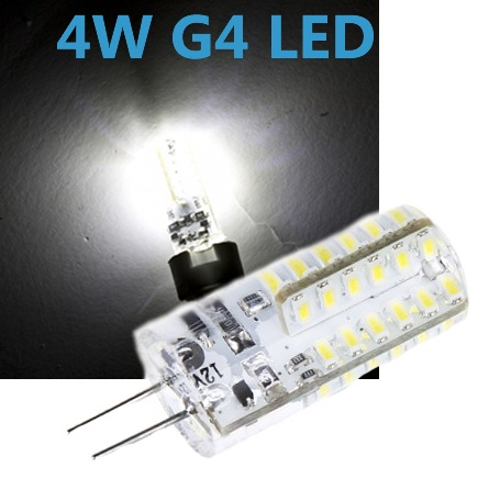 CREE LED G4 4W 12V Leuchtmittel kaltweiß (Spot, Strahler, Halogen)