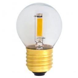 EiKO G45 LED E27 COB Filament 1,2W klar warmweiß 2700K 100lm 230V