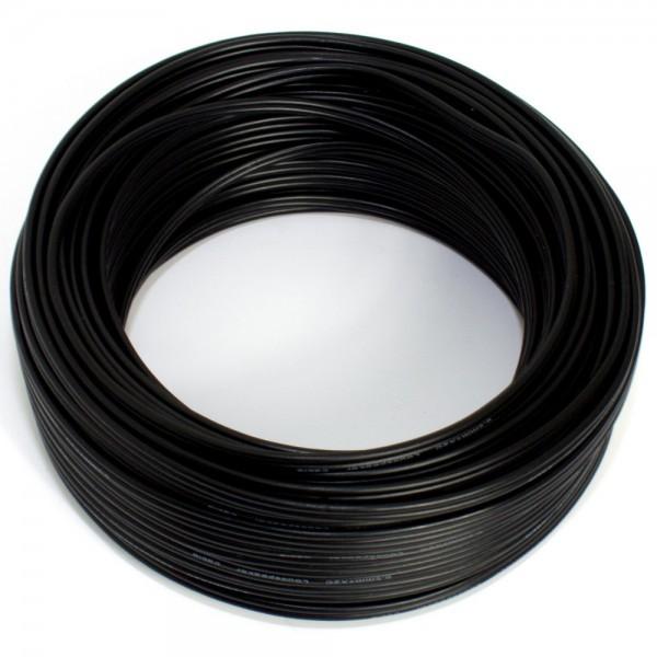 25m Lautsprecherkabel 2x 0,50mm schwarz