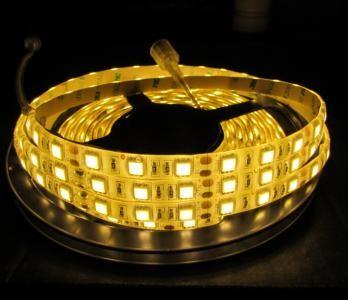 Flex LED Strip 5050 WARMWEIß 1m - 5m 12V 60 LED/m IP20