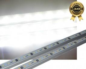 LED Aquarium Beleuchtung 80 - LED Leisten Set 3450lm SMD 5630 natürliches weiß