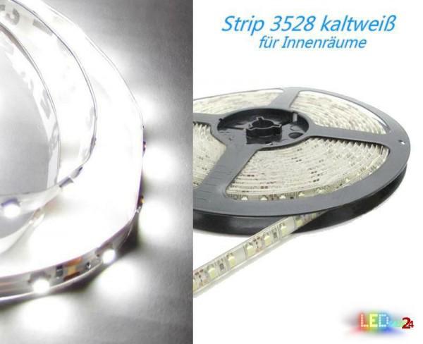 LED Strip KALTWEIß 12V 60 LED/m IP20 Wunschlänge