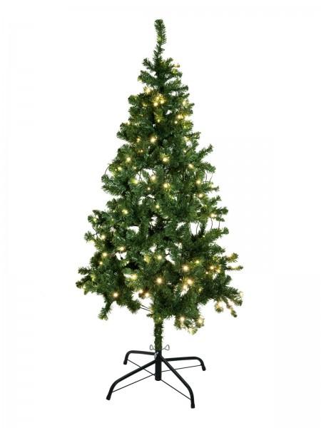 EUROPALMS Tannenbaum, beleuchtet, 180cm