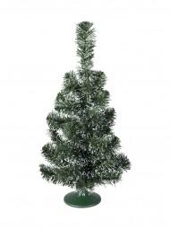 EUROPALMS Tischtannenbaum, grün-weiß, 45cm