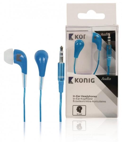 König Kopfhörer 3,5mm Blau