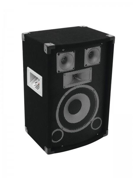 OMNITRONIC 300W 3 Wege Lautsprecher MK2