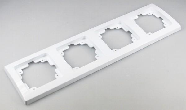 DELPHI 4-fach Rahmen weiß