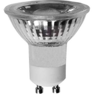 Blulaxa Retrofit Glas GU10 LED 5,5W COB Leuchtmittel warmweiß