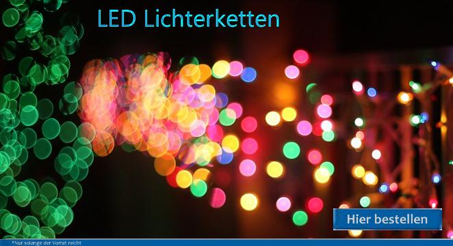 LED Lichterketten für Innen und Außen