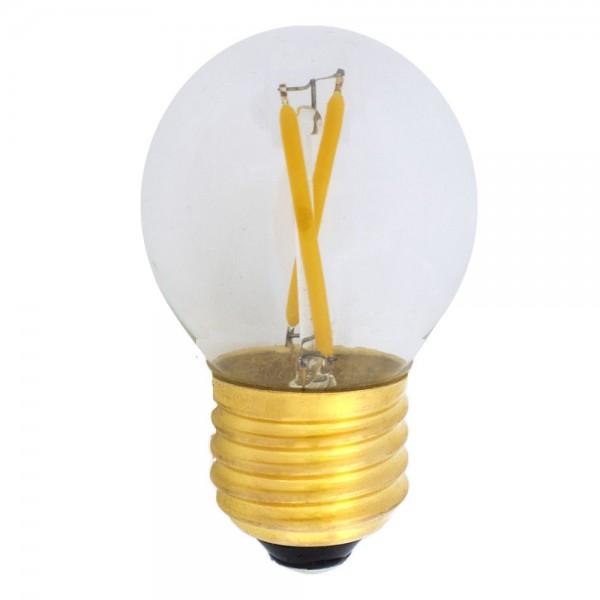 EiKO Dimmbares G45 LED E27 Filament 2W warmweiß 2700K 250lm 230V